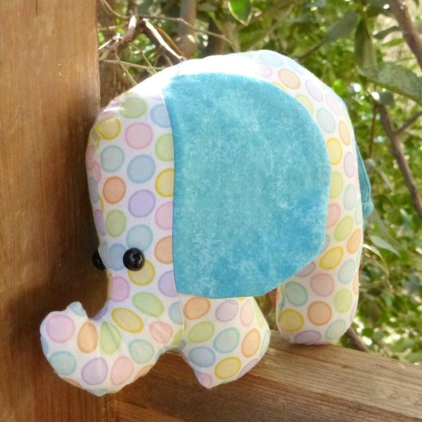 גזרות לבובות - בובת פיל
