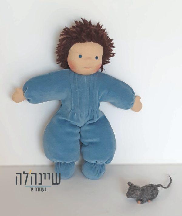 בובת בן אנתרופוסופית ועכבר