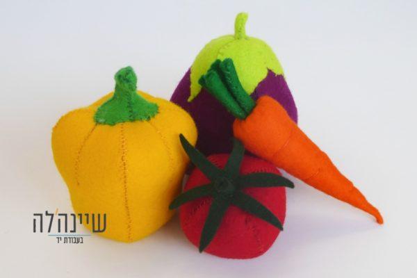 צעצועים אנתרופוסופים פלפל עגבניה חציל